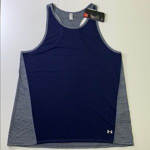 NWT Womens Under Armour Loose Fit Racer Back Tank